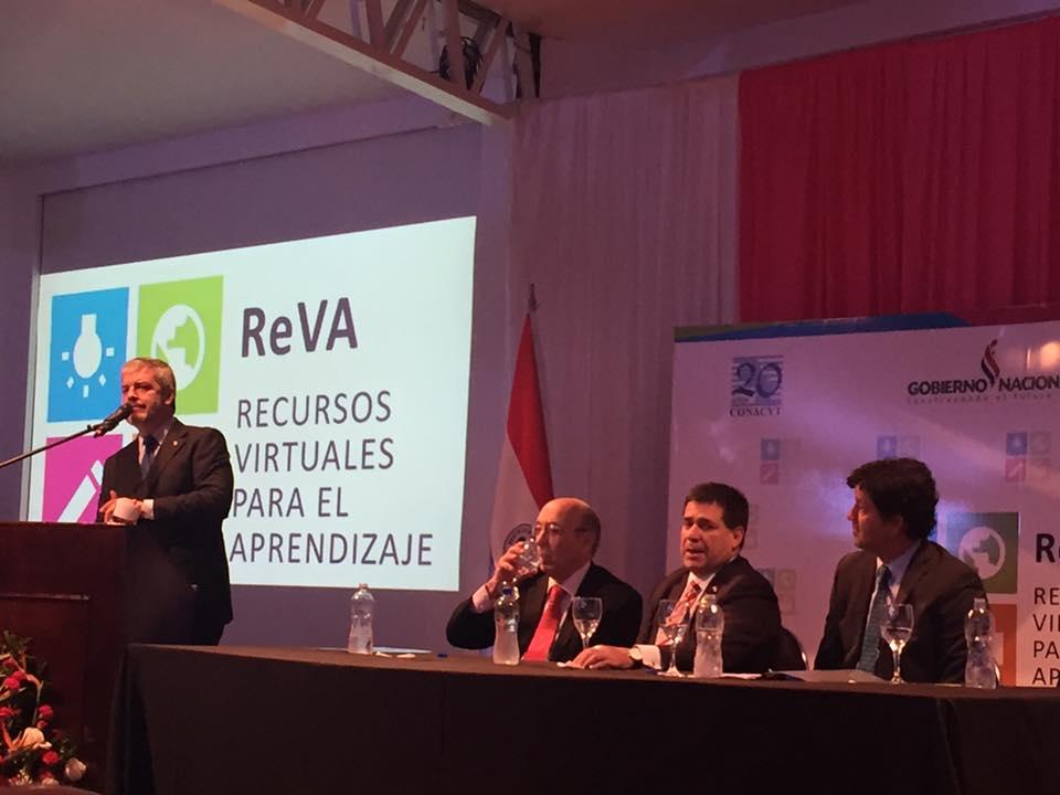 Lanzamiento de ReVa, la primera biblioteca virtual en el Paraguay